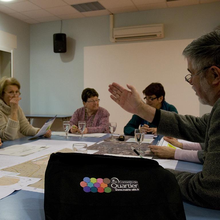 Démarche participative « projets de quartier, projet de ville » - Agence Concertation Francom