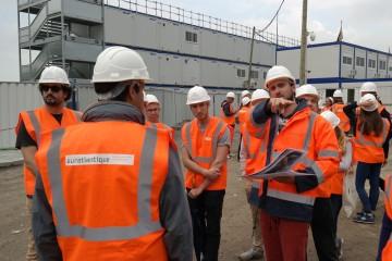 Une visite de chantier pour voir le Bordeaux de demain