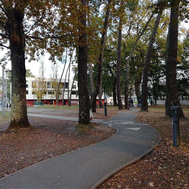 Espaces publics du campus de Pessac - Agence concertation FRANCOM