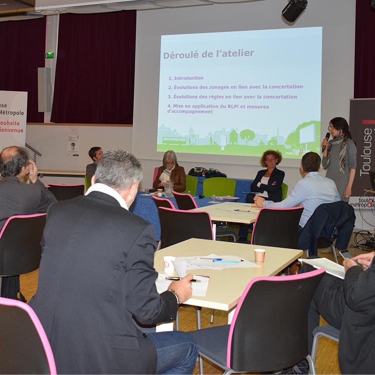 Atelier concertation Toulouse RLPi - Agence de concertation Francom