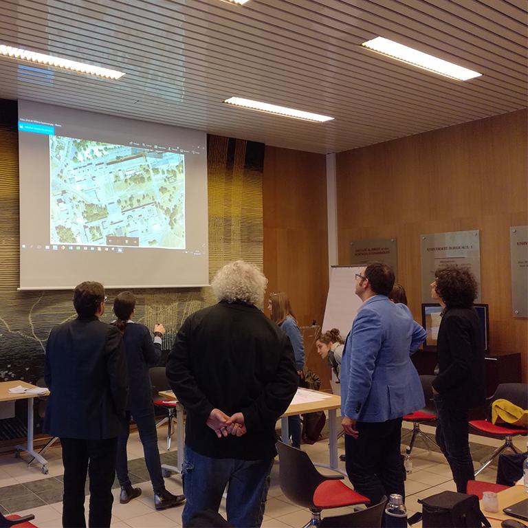 Concertation espaces publics du campus de Pessac - Agence de concertation Francom