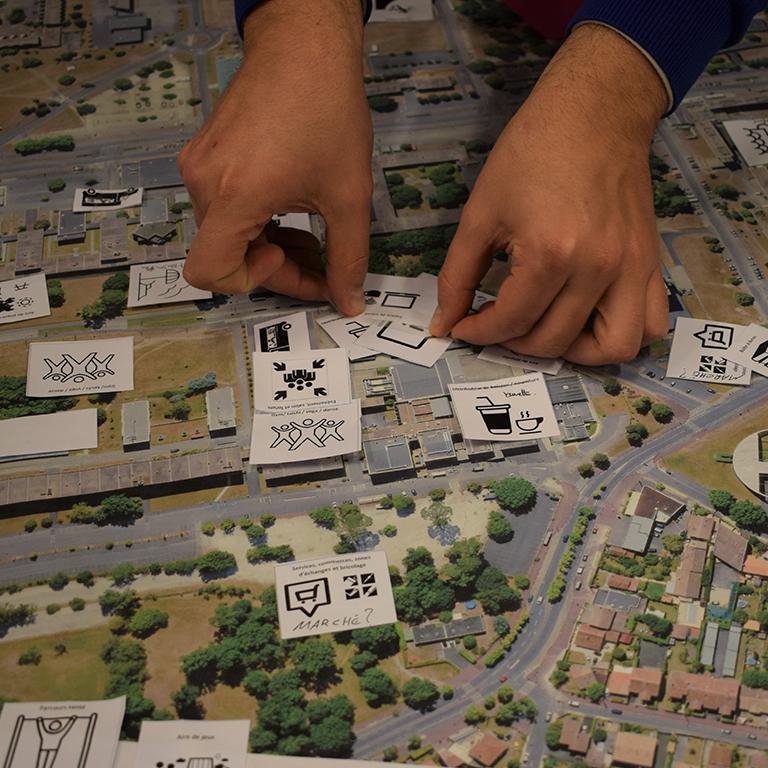 Concertation espaces publics - Université de Bordeaux - Agence de concertation Francom